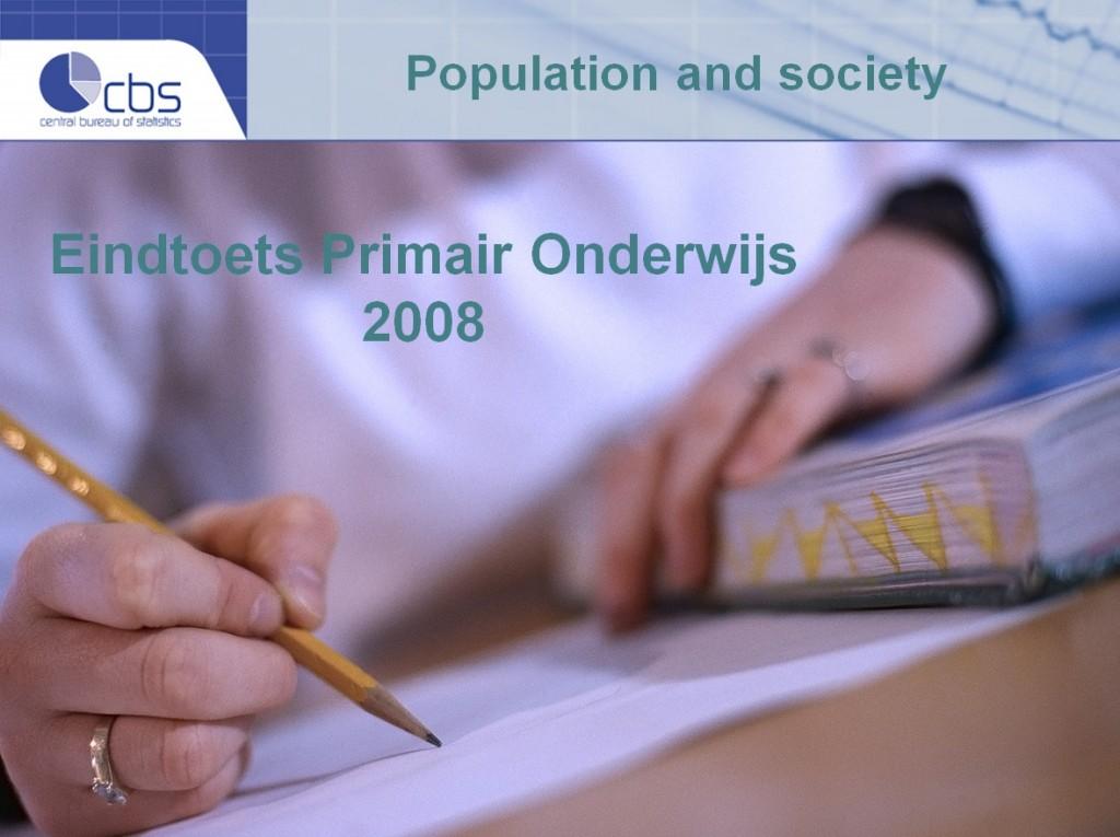Eindtoets Primair Onderwijs 2008