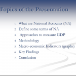 Presentations National Account of Aruba 2007